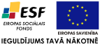 ESF + ES + IEGULDĪJUMS TAVĀ NĀKOTNĒ